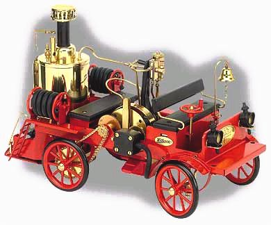 Wilesco model steam fire engine D305