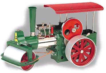 "Wilesco steam roller D365 ""Old Smokey"""
