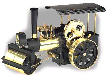 Wilesco model steam engine  roller D366