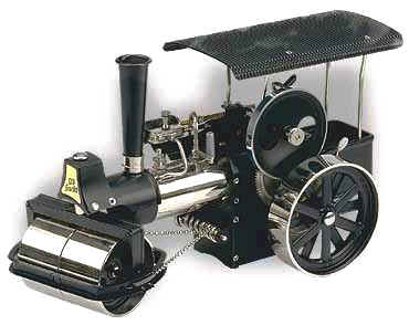Wilesco model Steam engine road Roller D368
