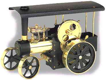 Wilesco model steam traction engine D406