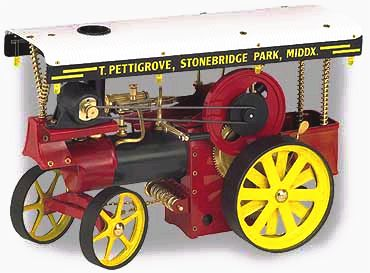 Wilesco Showman's Engine D409